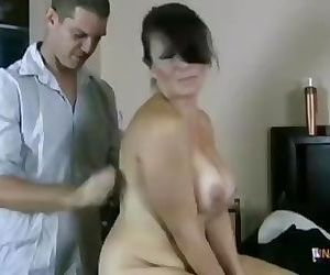 Mom Sneeks In On Son Stacy Naked..