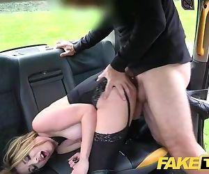 Fake Taxi Butt plug & cock..