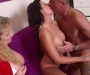 German MILF Seduce Young Couple..