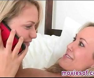 Naughty blonde stepdaughter and..