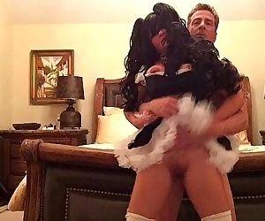 Busty maid fucked in hotelHD