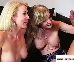 Nina Hartley and..