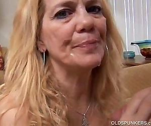 Beautiful mature blonde loves to..