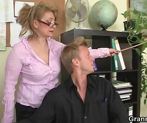 Hot office sex..