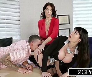 Fantasy Teacher vs Stepmom 3Some..