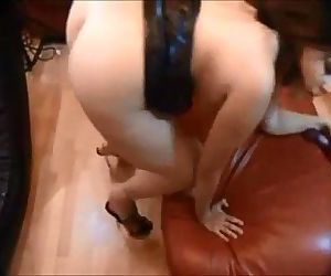 Amateur curvy ass fucked on..