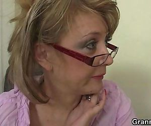 Office lady is forced him fuck..