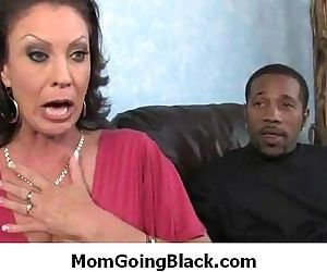Black monster fucks my moms tight..