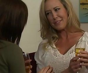 Hot lesbians Brandi Love and..