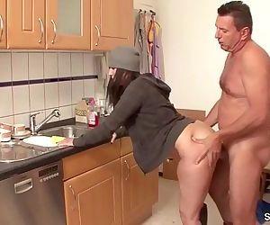 German MILF Seduce to Fuck by..