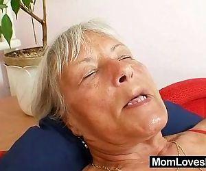 Ugly grandma..
