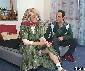 He bangs old widow..