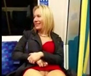 public flashing hot milf - view..