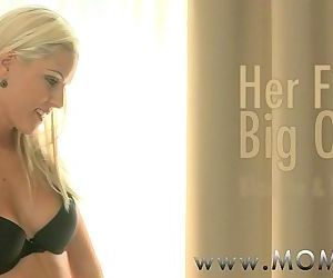 MOM Blonde MILF loves his Big..