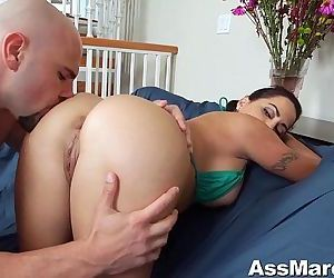 Big Booty Julianna Vega Fucks Big..
