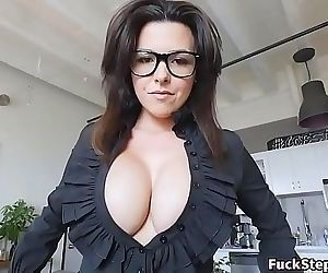 Big Tits Stepmother Fucked By..