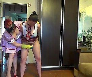 Mommy punishing..