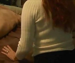 Redhead mom creampied on real..