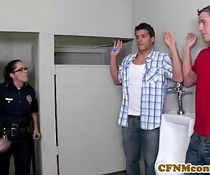 Dana Dearmond hot cop gets..