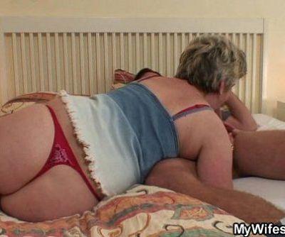 Horny granny..