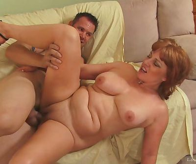 Cock thirsty milf in a wild sex..