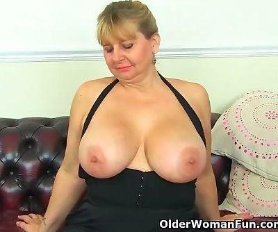 Big titted milf Alexa from the UK..