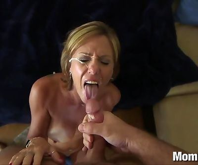 44 year old big tits cougar takes..