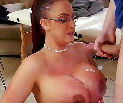 mom big tits force..