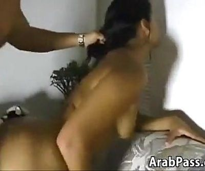 Sexy Arabic Mother Giving A..