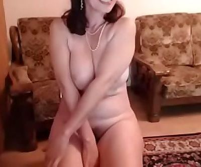 hot 48 yo russian mature maria..