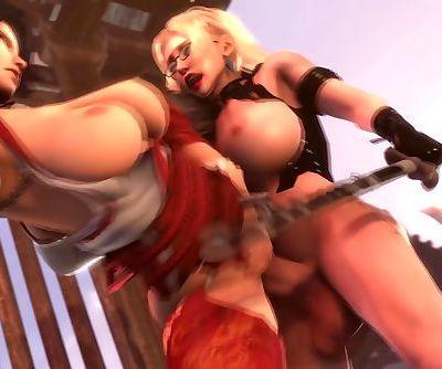 Dead Or Alive 60FPS Futa Rachel x..