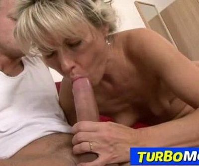 Hairy blonde lady rough sex feat...