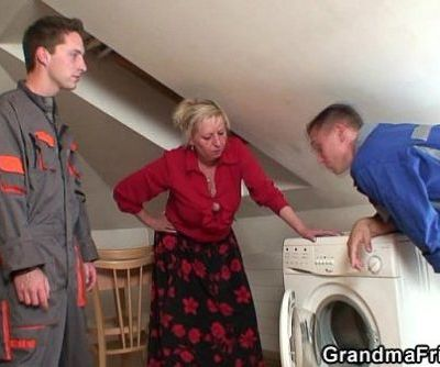 Granny offers her..