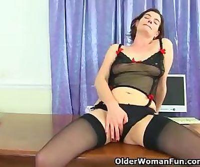 British milf Clara is your sexy..