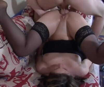Mom gets anal surprise from her son