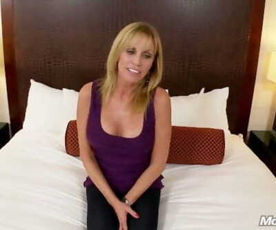 Hot Grandma gets anal sex and..