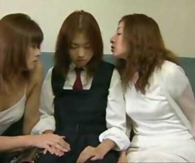 Japanese lesbian perverts seduce..