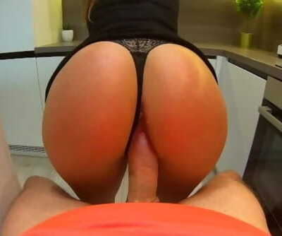 My Best Friend Mom ride on My Cock