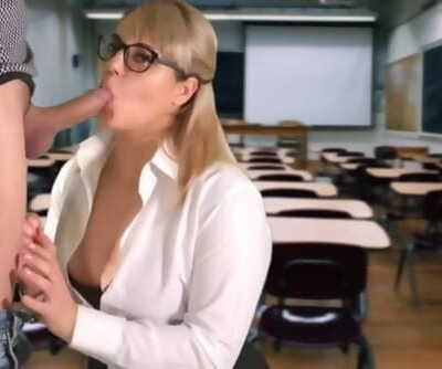 Teacher Sucked the Student in the..