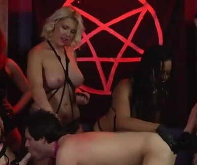 Satanic Femdom Orgy
