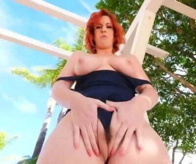 Big Tits Redhead..