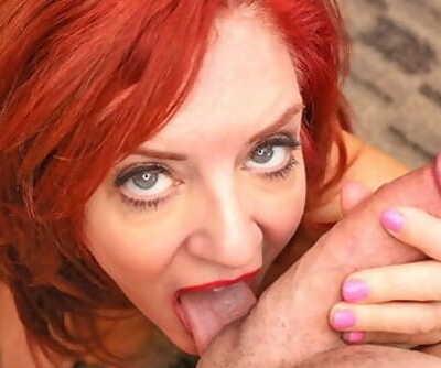 MILFTRIP Huge Tit Red Head MILF..