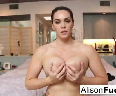 Busty Alison Tyler helps the..
