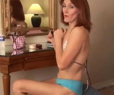 Skinny old Spunker Fucks her..
