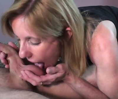 MILF Sucks and Fucks a Young..