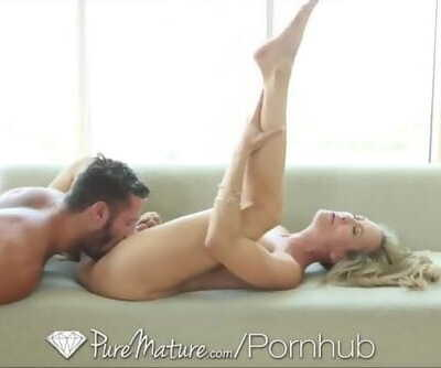 PureMature Sexiest MILF Shows how..