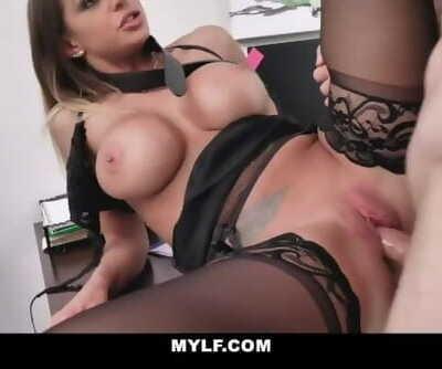 MYLF - Sexy Tan MILF Fucks her..