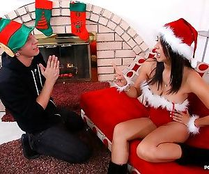 Naughty step-mom gets horny around the holidays - part 238