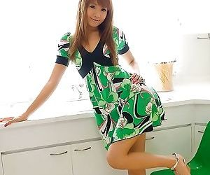Asian cutie hinano momosaki poses nude shows pussy - part 3781