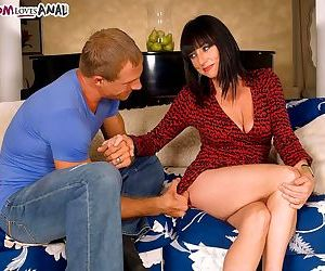 Karen kougar gets ass-fucked in her first scene - part 364